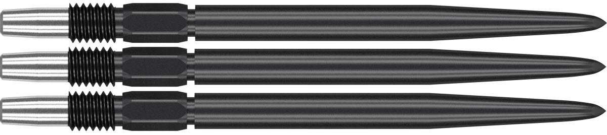 SET OF 3 TARGET SWISS FIREPOINT DART POINTS BLACK FOR USE WITH SP BARRELS