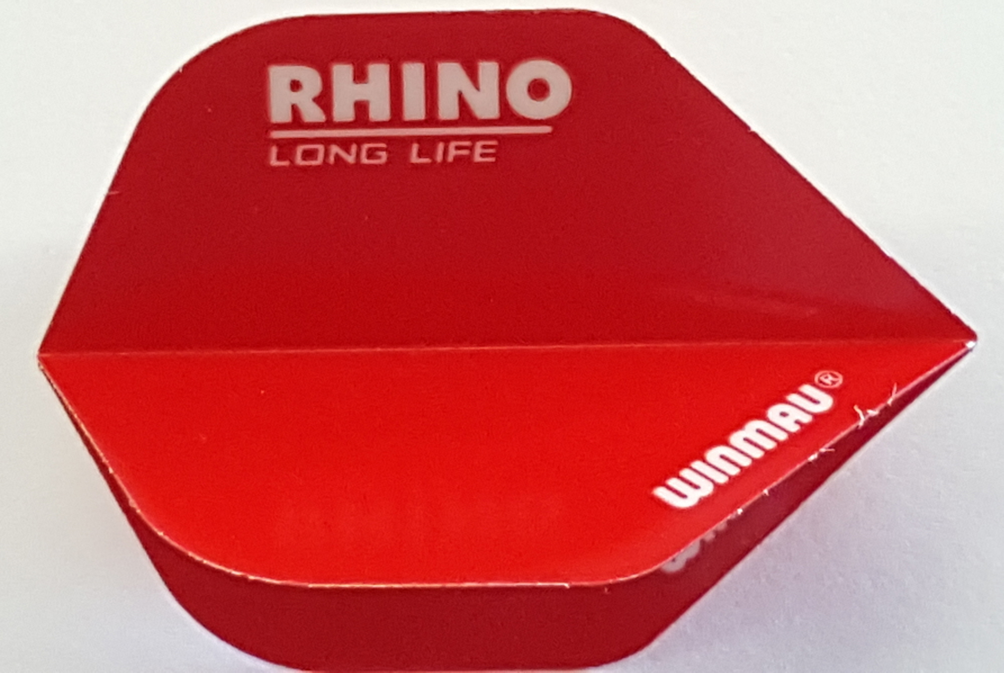 Long Life Extra Thick in Plain Red 5 Sets of Winmau Rhino Darts Flights